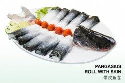 PANGASIUS ROLL WITH SKIN