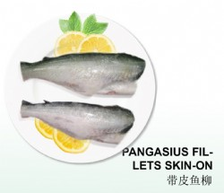 PANGASIUS FILLET SKIN-ON