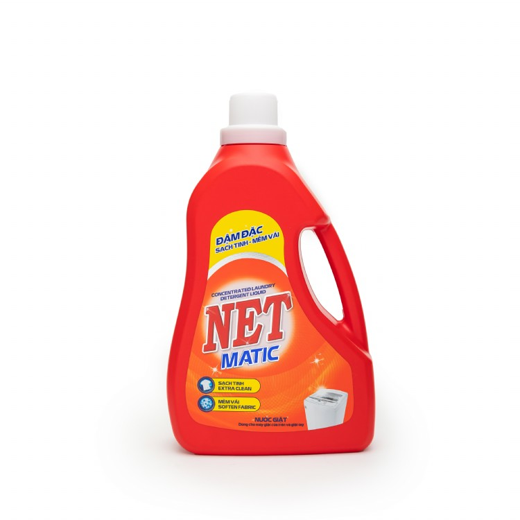 Detergent Liquid Concentrated NET MATIC 3.6kg
