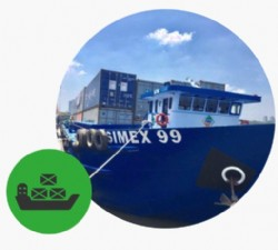 CONTAINER BARGING SERVICE