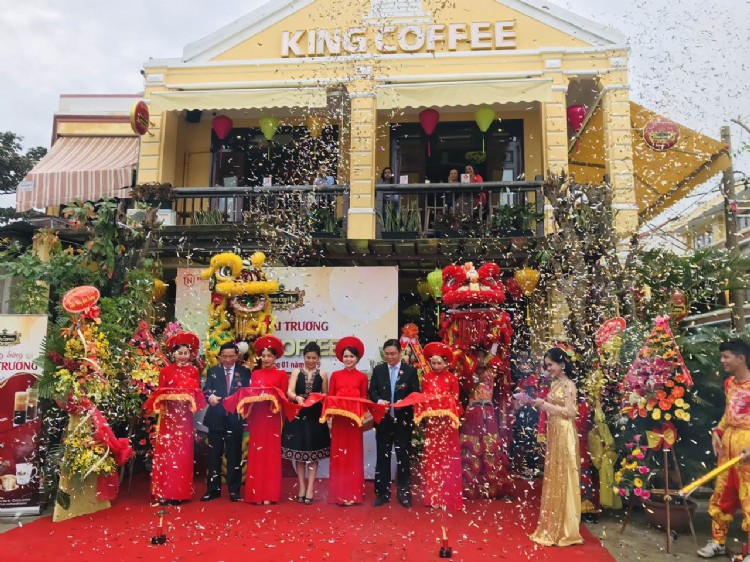King Coffee continues to open new shops in Hoi An