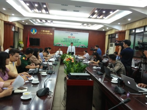 Press conference of the National Conference on summarizing 10 years of New rural construction