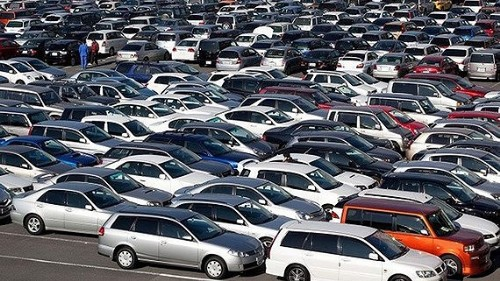 Imports of automobiles hit $2.4 billion in first four months