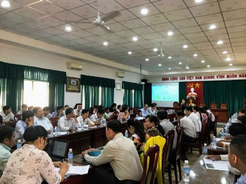 Training on OCOP in Tiengiang Province