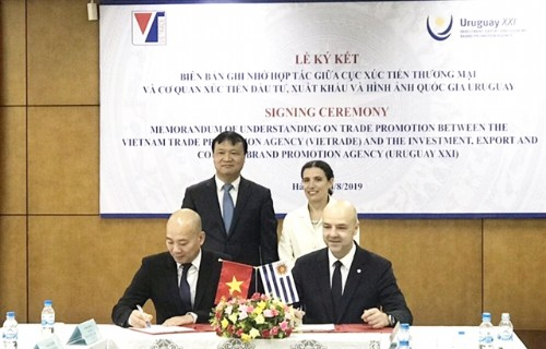 Việt Nam, Uruguay ink trade, investment agreement