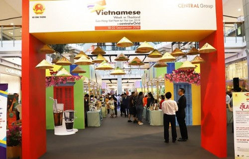 Vietnamese goods introduced in Thailand