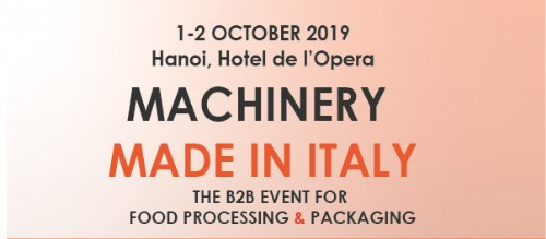 """MACHINERY """"MADE IN ITALY"""" 2019"""