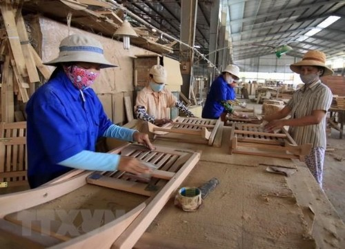 Forestry exports up over 18 percent