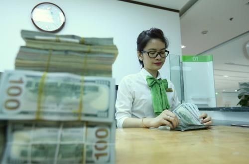 Reference exchange rate down 10 VND on November 17