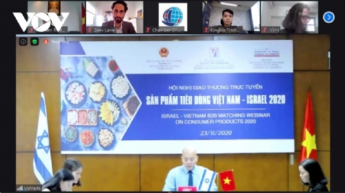 Vietnamese and Israeli enterprises seek to intensify trade exchange