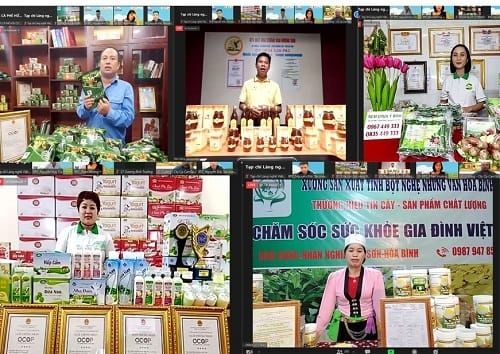 """OCOP Hanoi: Connecting supply and demand of OCOP products and regional specialties"""" on a digital platform"""
