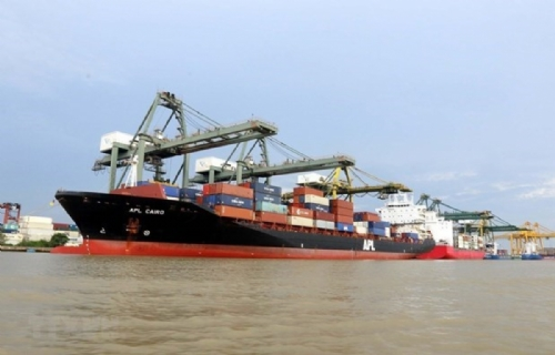 Container goods via seaports up 22% in H1