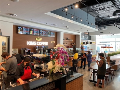Vietnam's TNI King Coffee opens first coffee-chain store in the US