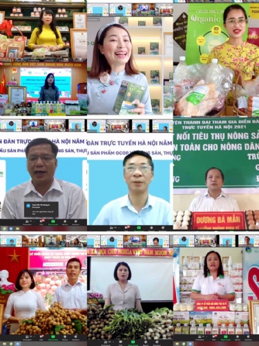 Hanoi Online Forum 2021 - Developing the supply chain of OCOP products and Agro-food products