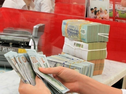 Reference exchange rate up 17 VND