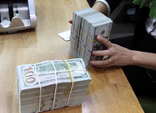 Reference exchange rate down 2 VND on September 22